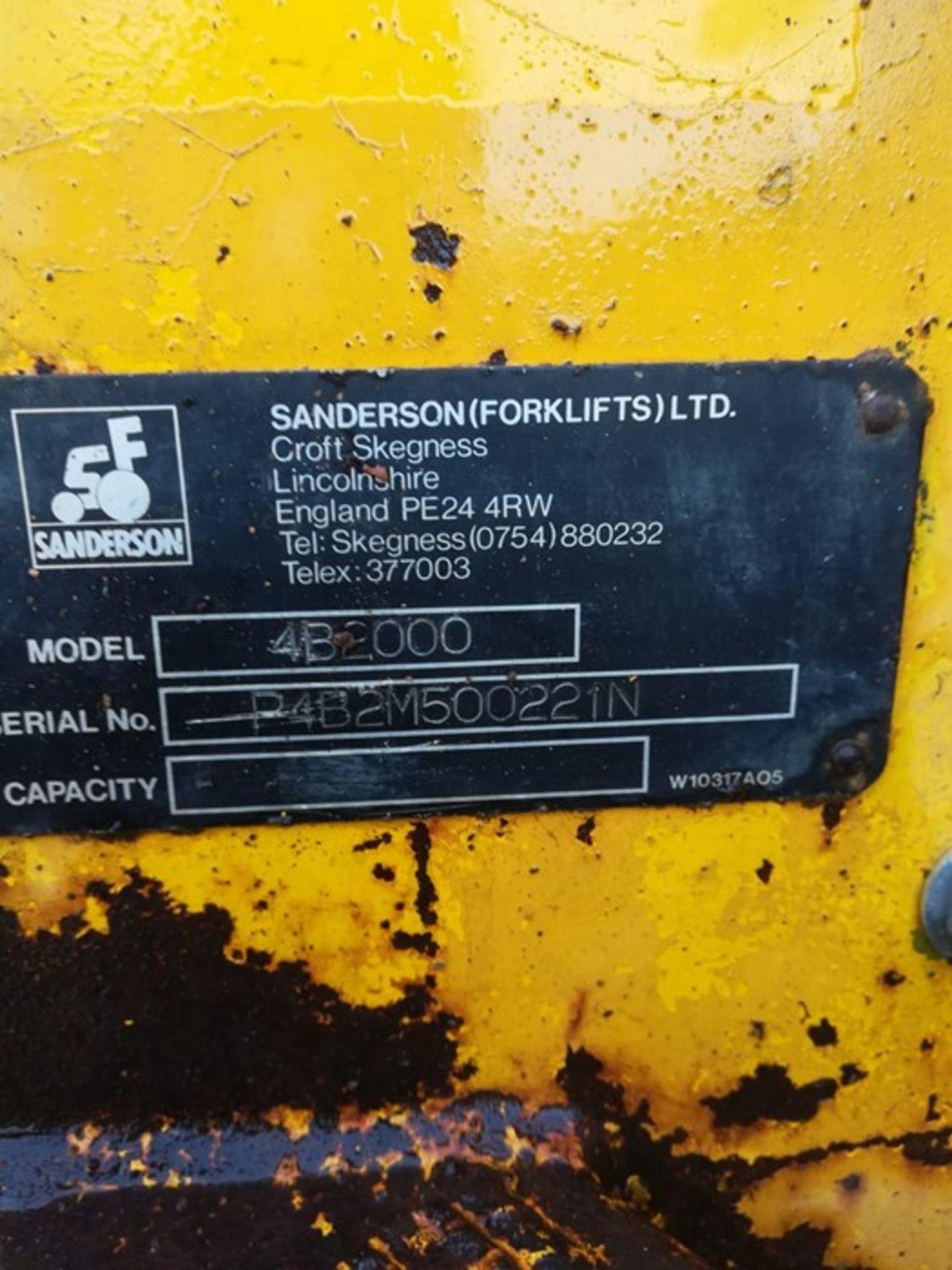 Sanderson Dumper Truck - Image 4 of 7