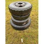 11-22 lorry wheels