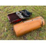 Scrap copper cylinder and radiators