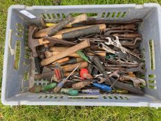 A quantity of tools & spanners