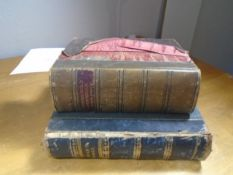 The Household Physician, Mcgregor-Robertson, Gresham 2nd Edition, 1/4 leather bound Bunyan's Works