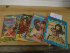 4x The Picture Show Annuals, 1955-1957 and 1959