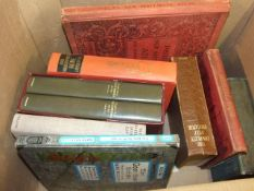 Box Books including EE Cummings Complete poems vol 1 and 2