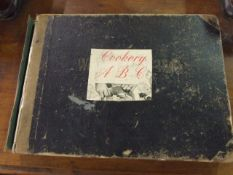 Scribbling Diary 1937 and cookery Scrapbook
