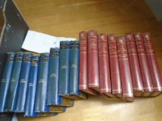 8 Volumes of Lord Lytton, pocket volume edition plus 8 volumes of Macdonald Illustrated Classics