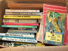 Box of Assorted Books some vintage