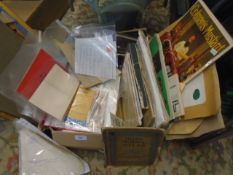 Mixed box of ephemera to incl photos, paperwork, letters etc
