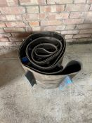 Length of elevator rubber belt