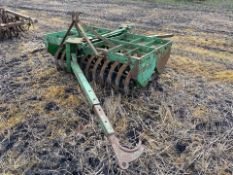 Flexicoil plough press
