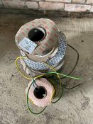 Quantity of electrical wire on rolls