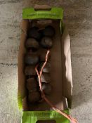 Box of tractor linkage balls & bushes