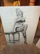2 Marilyn Monroe Pictures largest 60 x 42 inches