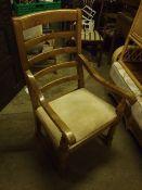 Ladder Back Armchair