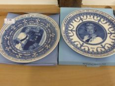 6 Boxed Wedgwood Plates with certificates