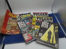 Collection of vintage comics etc