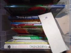 Box of Mixed books (crate not included) A