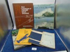 Quantity of books regarding fishing etc