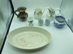 Wade Spring Bouquet Dish , West German Jug , Royal Doulton Marseilles Jug , Spode and Wedgwood (