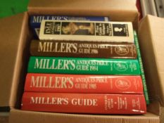 Box of Millers Guides etc