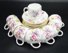 Eight Royal Crown Derby coffee cups & saucers