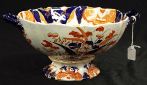 Large Antique Mason's Ironstone Imari bowl