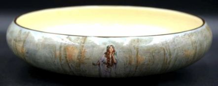 Royal Doulton Ophelia Hamlet 'Shakespeare' bowl