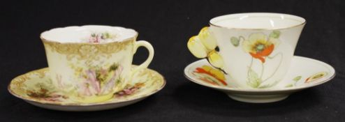 Two good Doulton tea cups & saucers