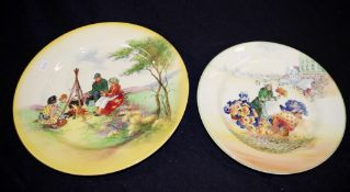 Two Royal Doulton plates