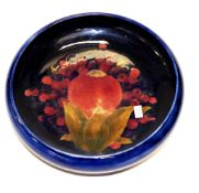 Good Walter Moorcroft 'Pomegranate' bowl