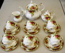 Royal Albert 'Old Country Roses' tea set