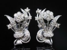 Mid century diamond and white gold