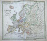 Weiland, Carl Ferdinand: Allgemeiner Hand-Atlas der ganzen Erde
