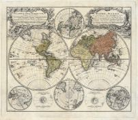 Homann, Johann Baptist: Planiglobii terrestris mappa universalis