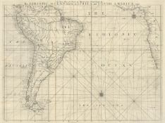 Herbert, William: A New Map or Chart in Mercators Projection of the Ethiopic Ocean