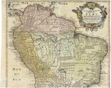 Südamerika: Tabula Americae specialis geographica regni Peru