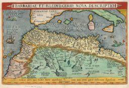 Ortelius, Abraham: Barbariae et Biledulgerid
