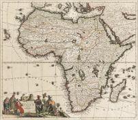 Danckerts, Justus: Novissima et perfectissima Africae descriptio