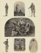Watson, John Forbes: The Textile Manufactures and the Costumes of the People of India