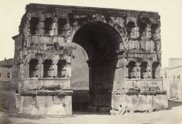 MacPherson, Robert: Arch of Janus; View of Forum Boarium