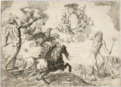 Cantarini, Simone: Jupiter, Neptun und Pluto