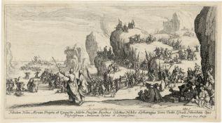 Callot, Jacques: Le Passage de la Mer Rouge