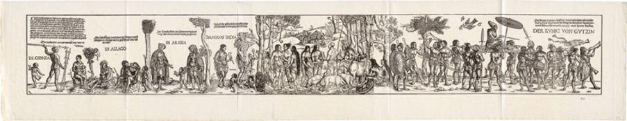 Burgkmair d. Ä., Hans - nach: Die Ureinwohner Afrikas und Indiens