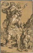 Büsinck, Ludolph: Aeneas rettet seinen Vater Anchises aus dem brennenden Troja