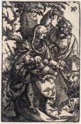 Beham, Hans Sebald: Die Hl. Familie unter dem Baum