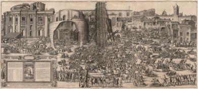 Bonifacio, Natale: Die Errichtung des Obelisken auf dem Petersplatz