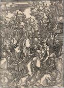 Dürer, Albrecht: Die Grablegung Christi