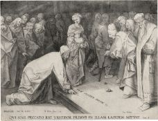 Bruegel d. Ä., Pieter - nach: Christus und die Ehebrecherin