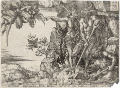 Aldegrever, Heinrich: Die Parabel vom reichen Mann und Lazarus