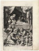 Cort, Cornelis: Die Geburt Mariens