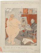 Blix, Ragnvald: Zeichnungen für den Simplicissimus